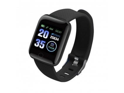 Inteligentní hodinky Smart Bracelet 116 Plus Černé