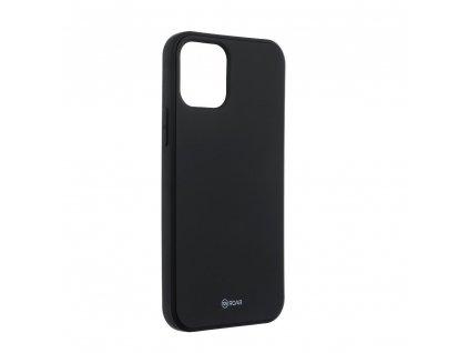 Silikonove pouzdro Roar pro iphone 12 mini cerne