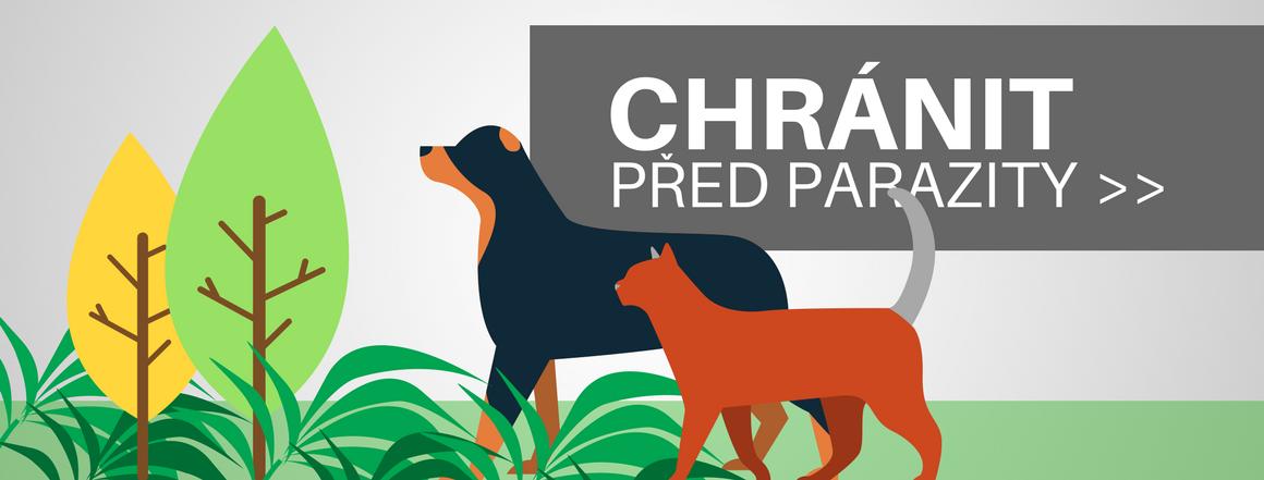 Akce - slevy na antiparazitika pro kočky a psy