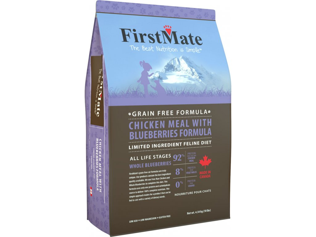 FirstMate Cat Chicken with Blueberries 1,8 kg