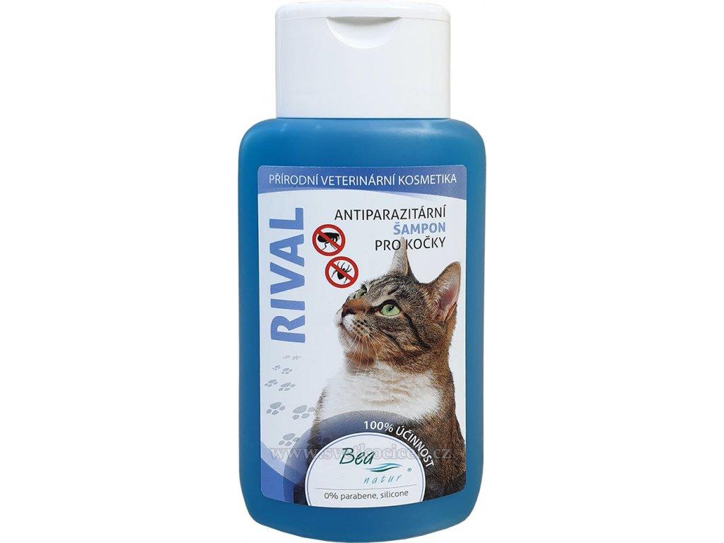 44659326c4 Bea Rival antiparazitní šampon kočka 220 ml - Svetkocicek.cz