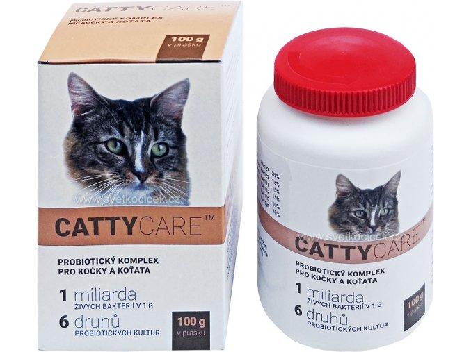 Catty Care probiotika kočky+