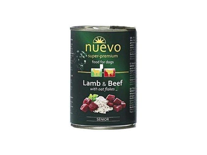Nuevo Dog Senior - konzerva pro starší pejsky 400 g