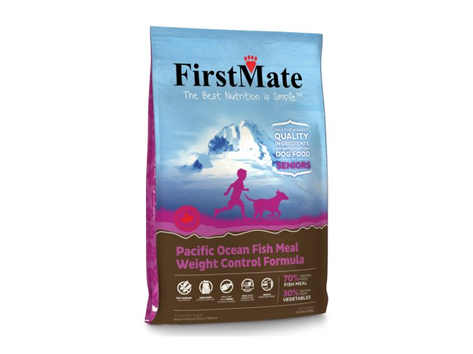 FirstMate Pacific Ocean Fish Weight Control and Senior 13 kg