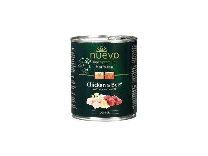 Nuevo Dog Junior - konzerva pro štěňata 800 g