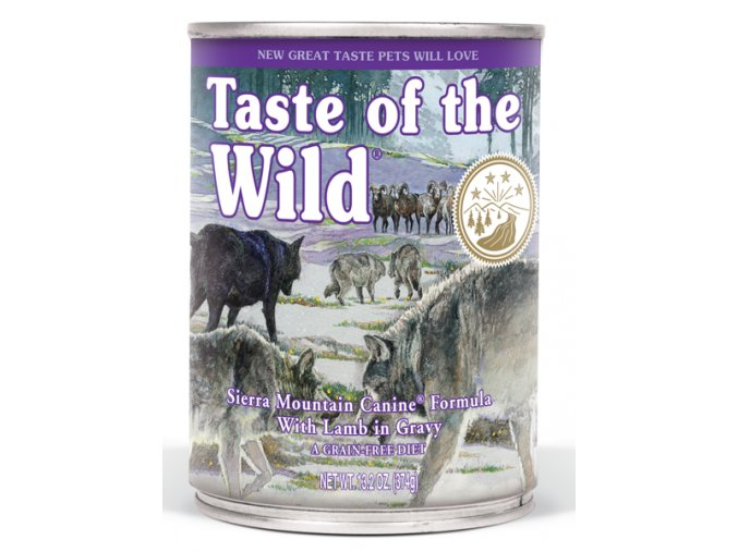 Taste of the Wild Sierra Mountain - konzerva 390 g
