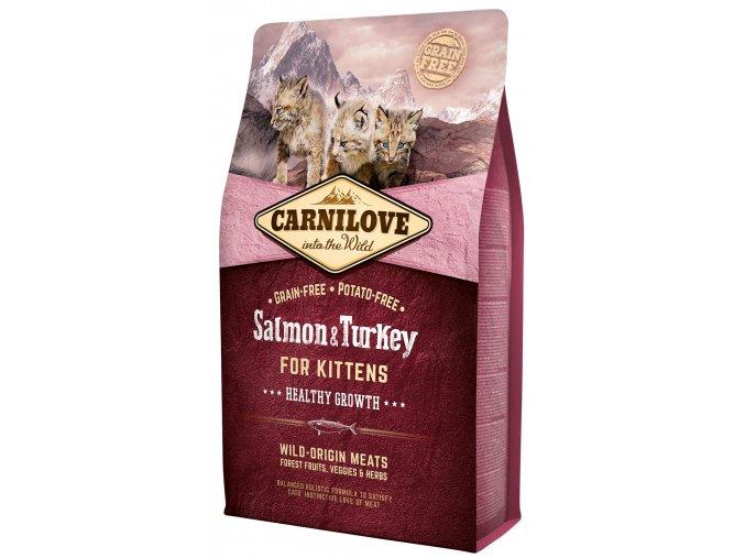 Carnilove Salmon Turkey for Kittens 2 kg