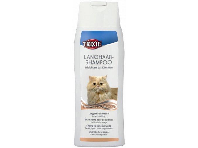 Šampon pro dlouhosrsté kočky Trixie 250 ml