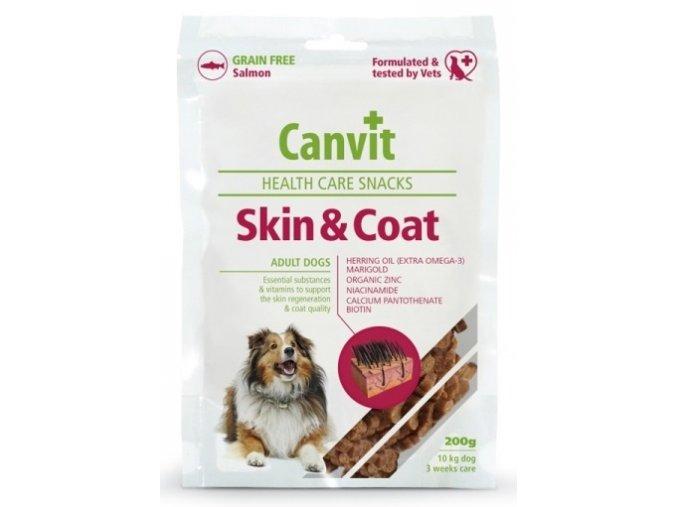 Canvit Snacks Skin and Coat 200 g