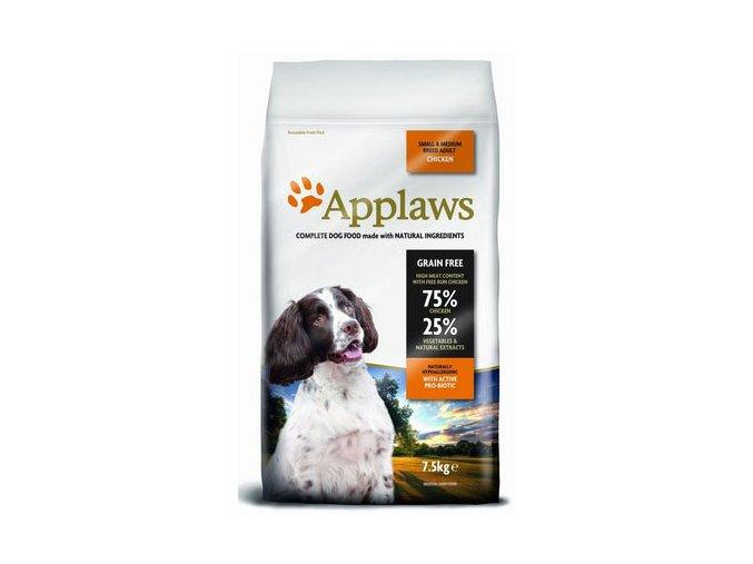 Applaws Adult Small Medium Breed Chicken 7,5 kg