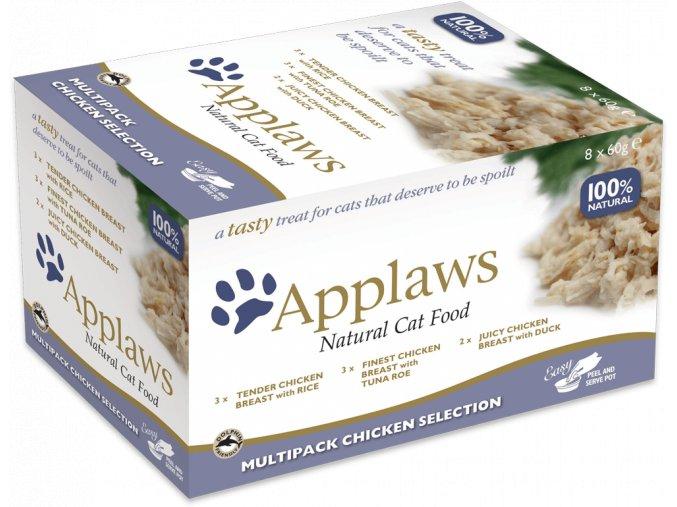 Applaws kuřecí výběr misky