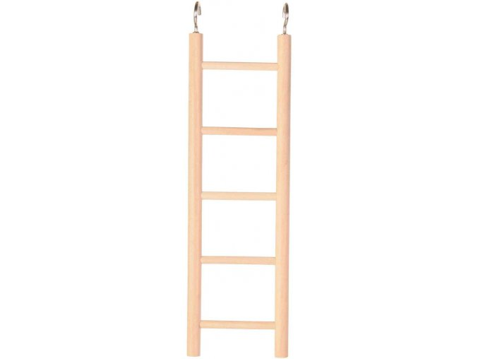 Dřevěný závěsný žebřík Trixie 5 příček 24 cm