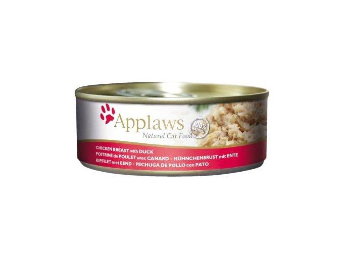 Applaws konz kuře a kachna 156g1