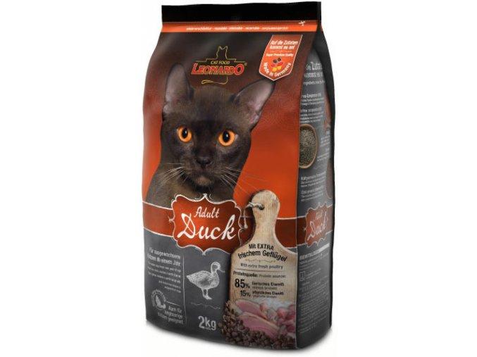 Kvalitní granule pro kočky s kachním masem bez alergenů