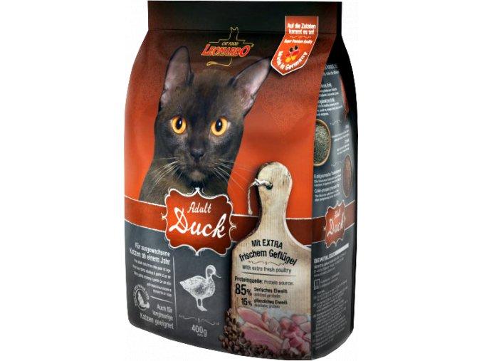 Kvalitní granule pro kočky s kachnou bez pšenice a kukuřice