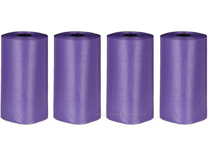 Sáčky Pick up fialové levandulové - 4x20 ks