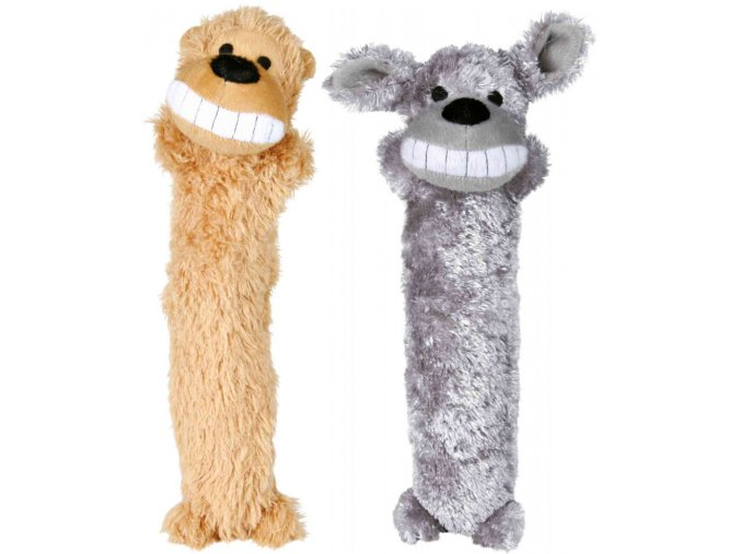 Plyšový dlouhán se zvukem 7x35 cm - hračka pro psy