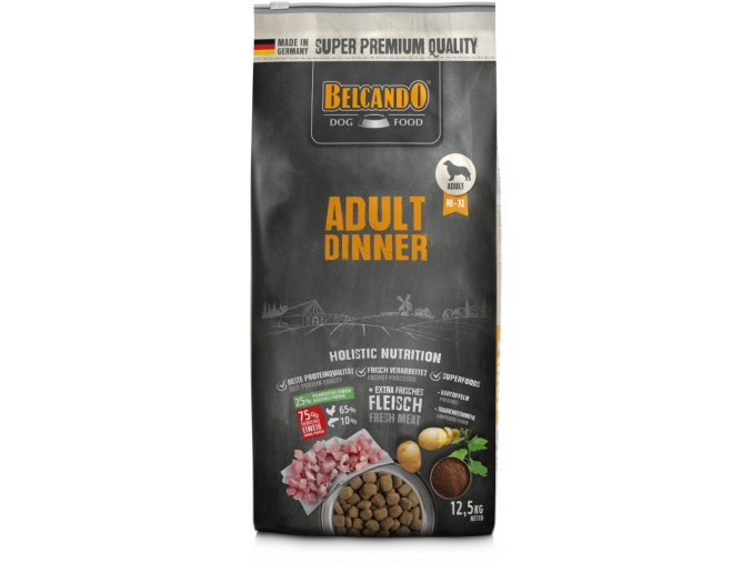Belcando Adult Dinner 12kg front 800x800