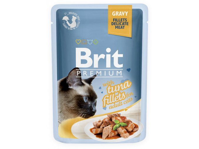 brit premium tuna gravy