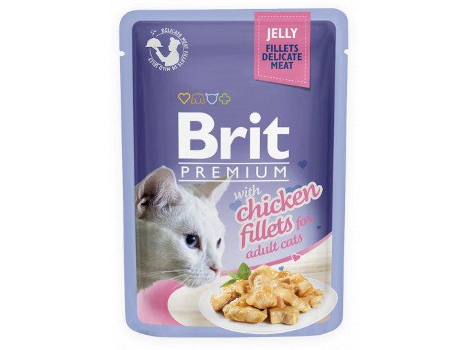 brit premium chicken jelly