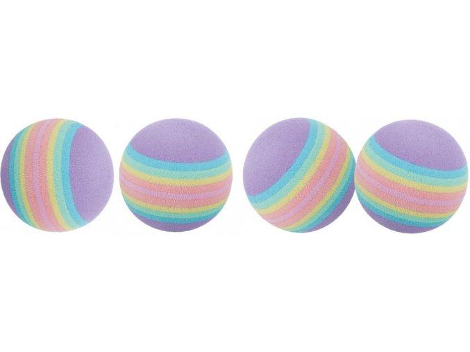 Duhové míčky Rainbow 4 cm - 4 ks v balení