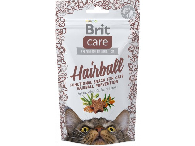 Brit snack hairball