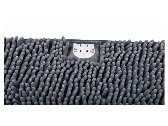 Předložka Mimi k WC 60 x 38 cm šedá větší
