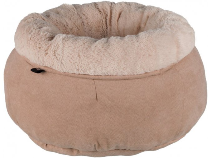 Zachumlávací pelíšek pro kočičky a malé pejsky 45 cm béžový