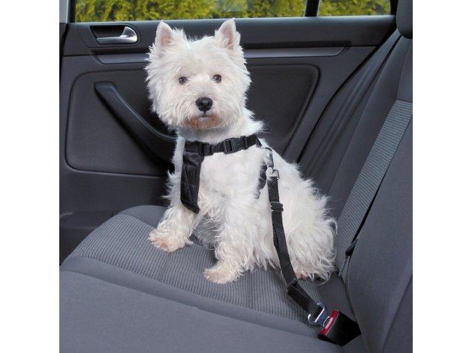 Bezpečnostní postroj do auta pro psa XS