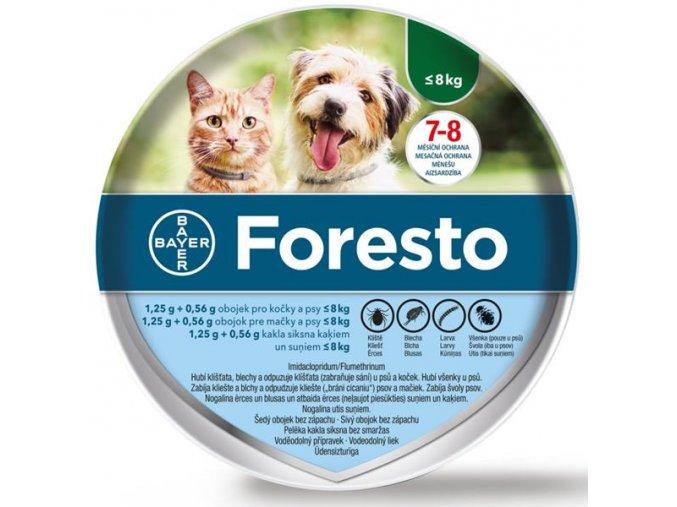 Foresto kočky 2018