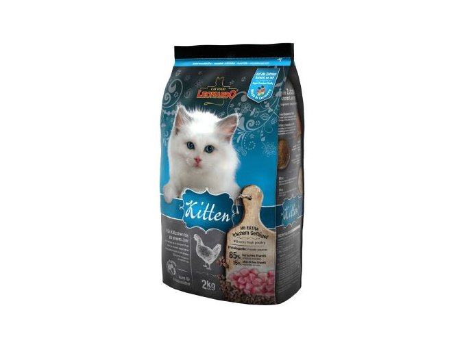Leo Kitten 2kg granulky pro koťata