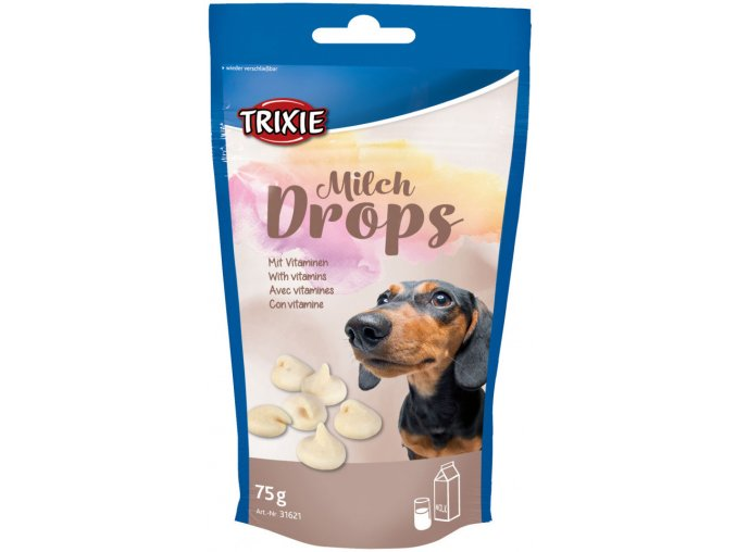 Milch Drops s vitamíny Trixie 75 g