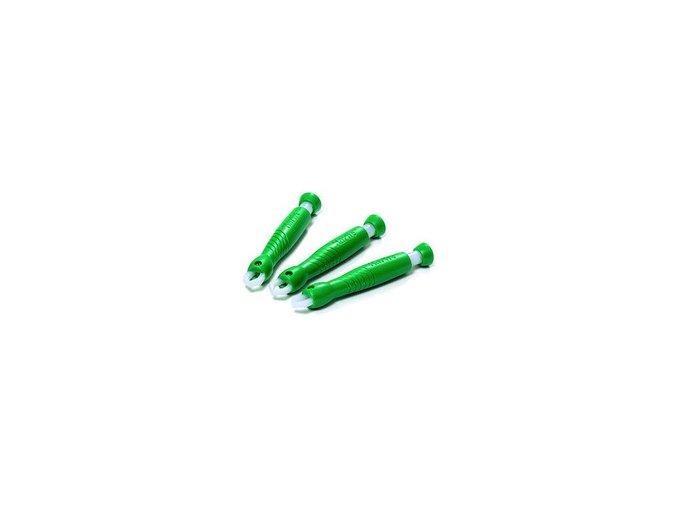 Kleště - pinzeta na klíšťata plast zelené 1 ks