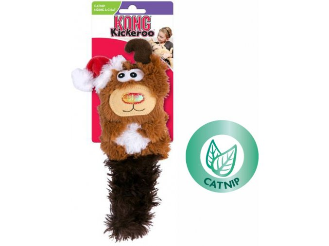 Kong vánoční jelen s catnipem1