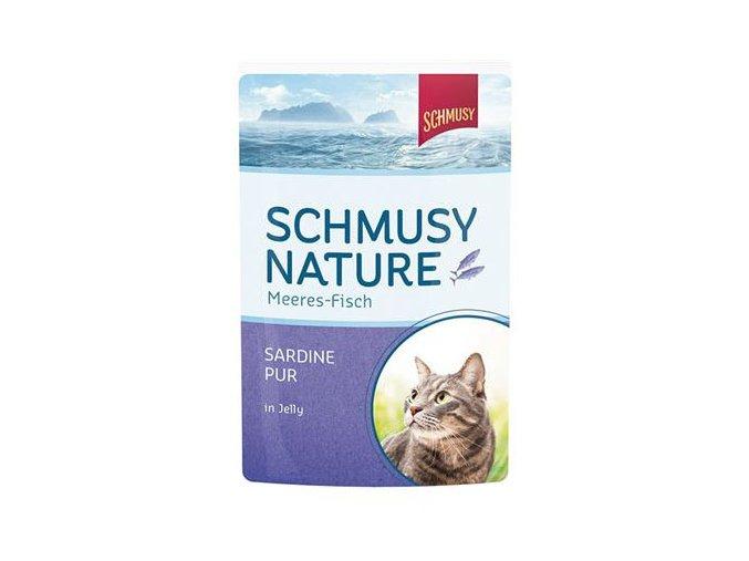 sardinky pro kočky v želé