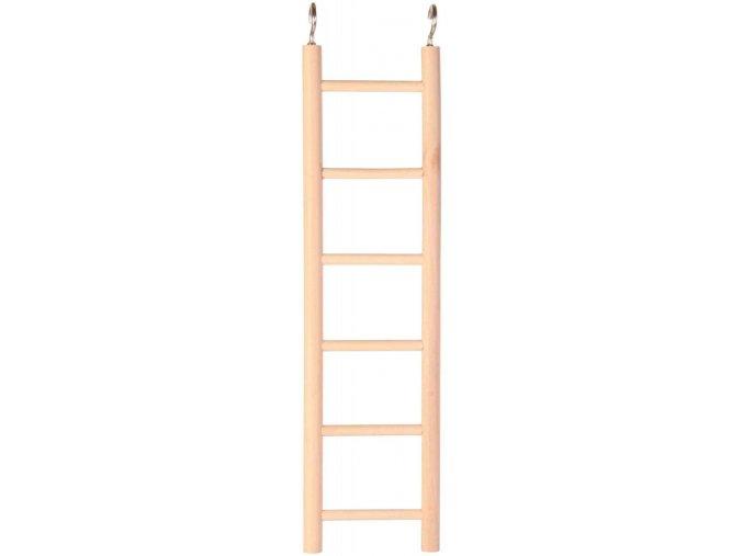 Dřevěný závěsný žebřík Trixie 6 příček 28 cm