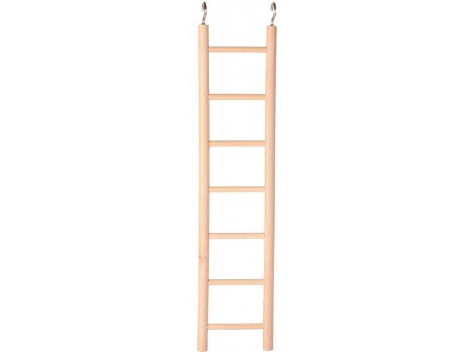 Dřevěný závěsný žebřík Trixie 7 příček 32 cm
