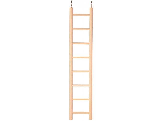 Dřevěný závěsný žebřík Trixie 8 příček 36 cm