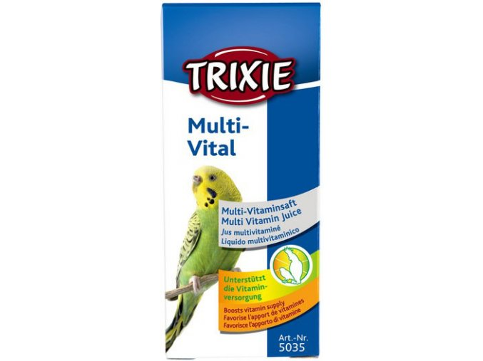 Multivital pro ptáky Trixie 50 ml