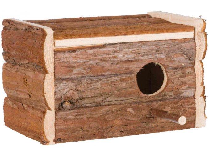 Dřevěná hnízdící budka Trixie 21x13x12 cm