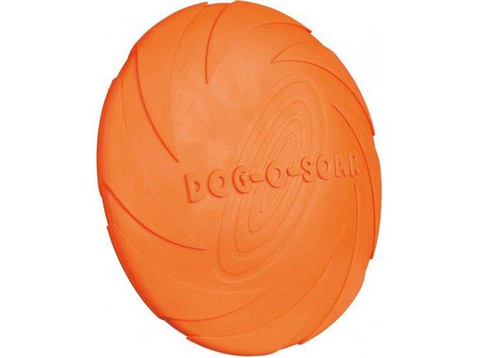Dog Disc létající talíř přírodní guma 24 cm