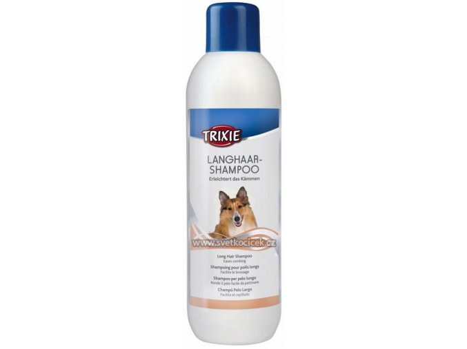 Šampon pro dlouhosrstá plemena psů 1 l