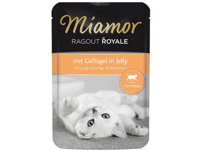 Miamor Cat Ragout Kitten drůbež v želé - kapsička 100 g