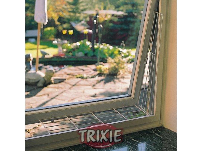 Mříž do okna pro kočky kovová obdélník 65 x 16 cm - 1 ks 'NELZE DO BALÍKOVNY'