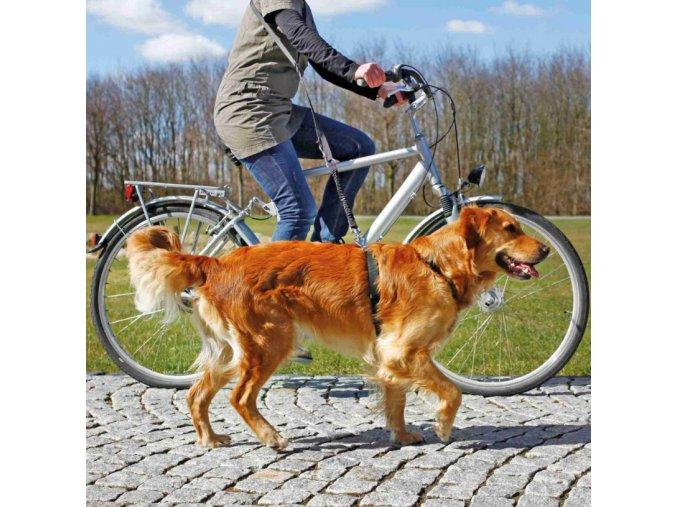 Vodítko na kolo a jogging Trixie
