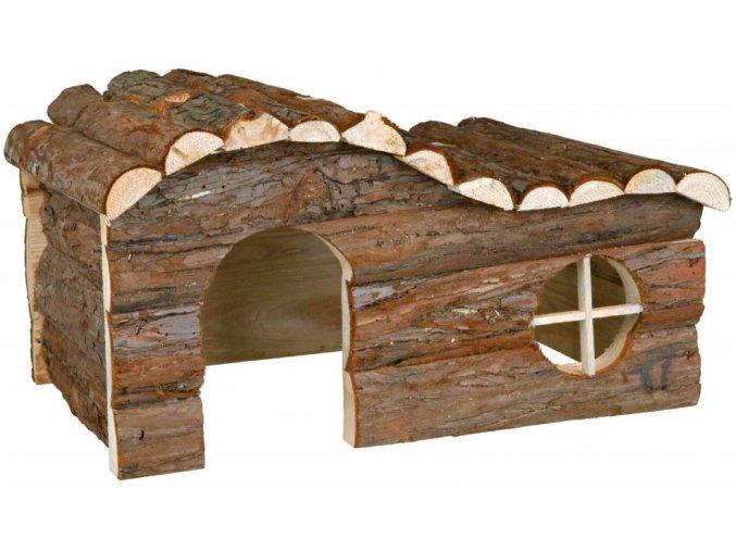 Dřevěný domeček pro králíka nebo morče Hanna