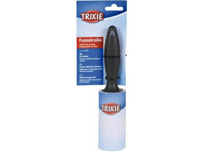 Váleček na odstranění chlupů z oděvu Trixie - držák+60 listů