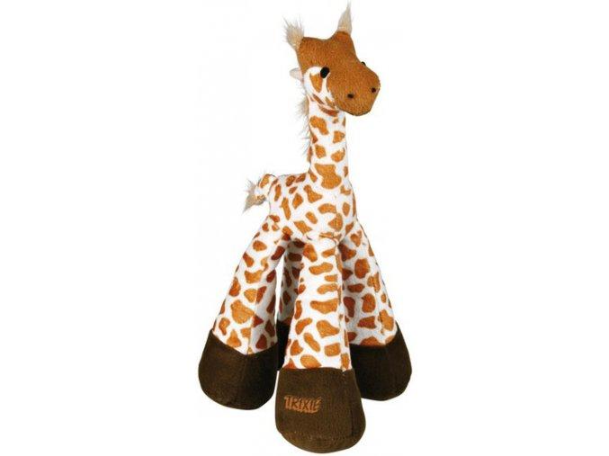 Plyšová žirafa se zvukem 33 cm