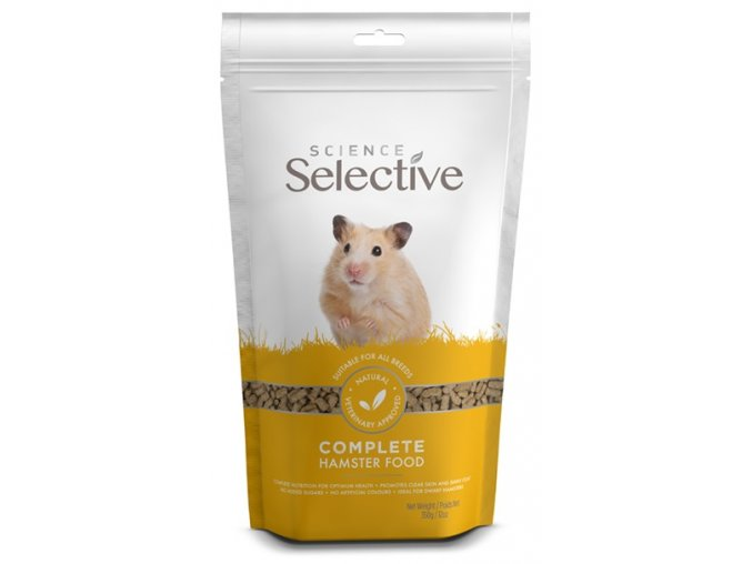 Selective Hamster 350g Front NEW