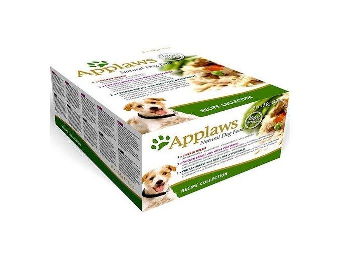 Applaws Dog Multipack Recipe - konzerva 8x156 g